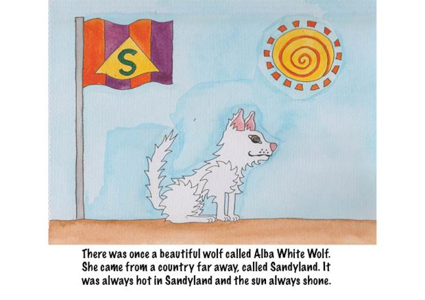 Go Back to Where You Came From Alba White Wolf