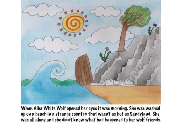 Go Back to Where You Came From Alba White Wolf11
