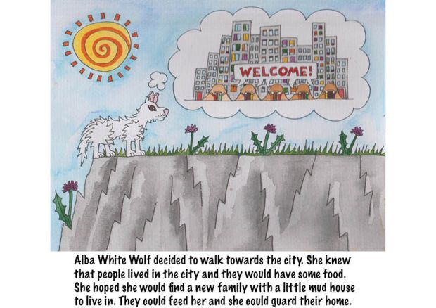 Go Back to Where You Came From Alba White Wolf12