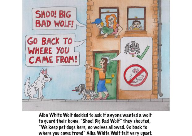 Go Back to Where You Came From Alba White Wolf15