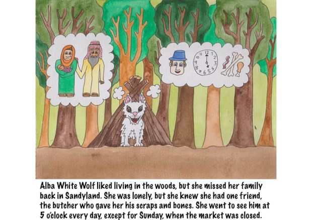Go Back to Where You Came From Alba White Wolf18