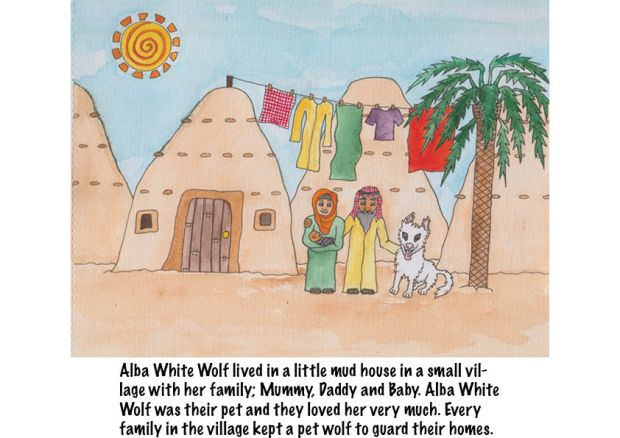 Go Back to Where You Came From Alba White Wolf2