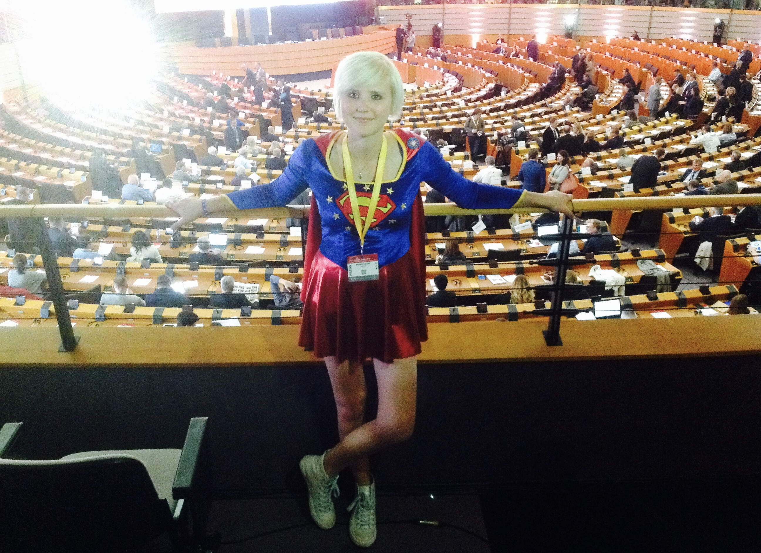 Posts of the winners – Brussels visit: Madeleina Kay - Advice for the EU from a Supergirl Activist
